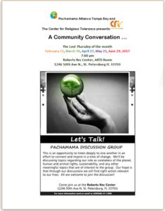 Let's Talk flyer through June 2017