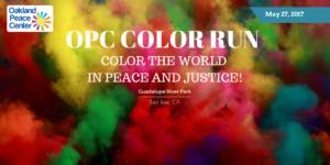 Oakland Peace Center Color Run